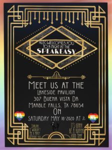Welcome to the Speakeasy @ Lakeside Pavilion | Marble Falls | Texas | United States
